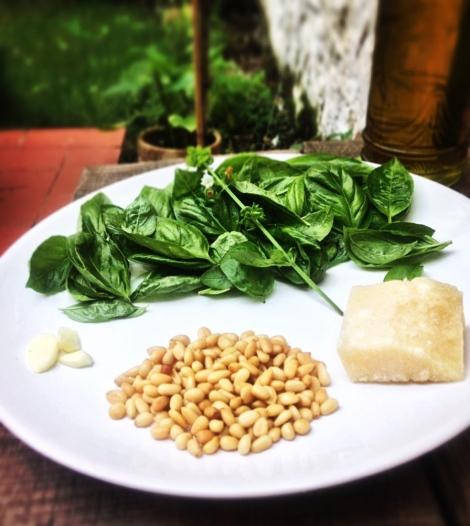 Pesto albahaca